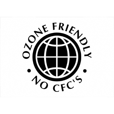 OZONE FRIENDLY NO CFC'S